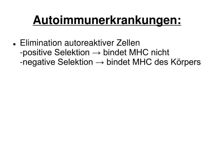 Autoimmunerkrankungen: