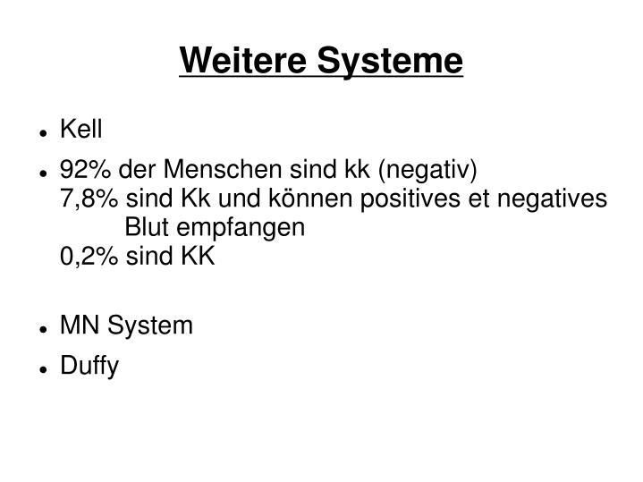 Weitere Systeme