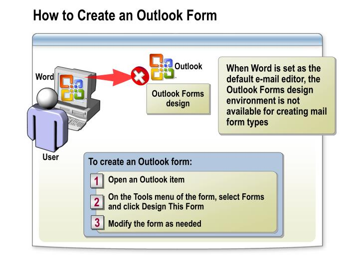 How to Create an Outlook Form