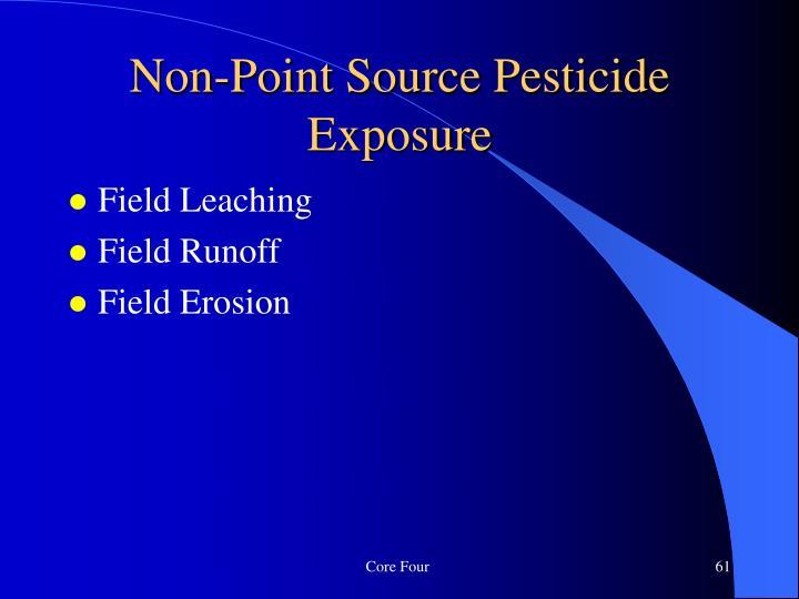 Non-Point Source Pesticide Exposure