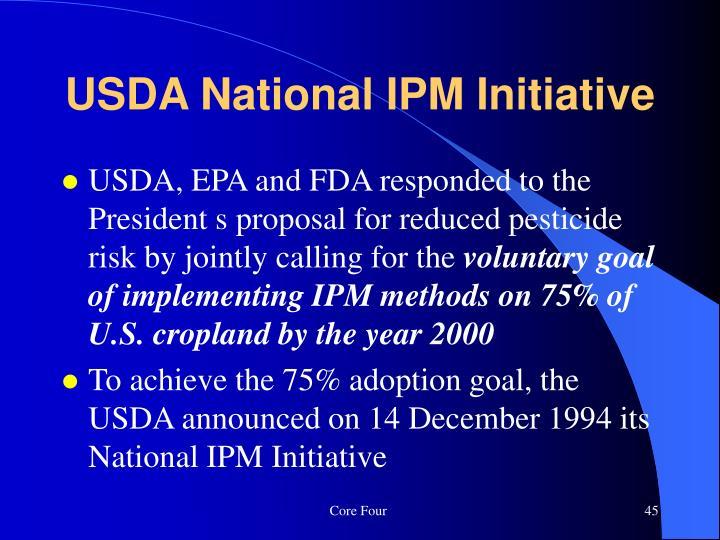 USDA National IPM Initiative