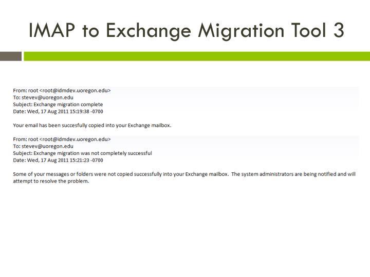 IMAP to Exchange Migration Tool 3