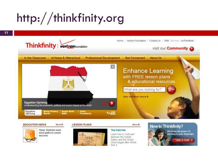 http://thinkfinity.org