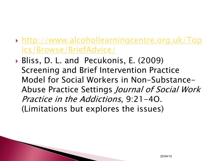 http://www.alcohollearningcentre.org.uk/Topics/Browse/BriefAdvice/