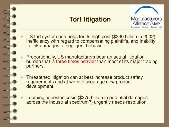 Tort litigation