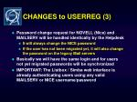 changes to userreg 3