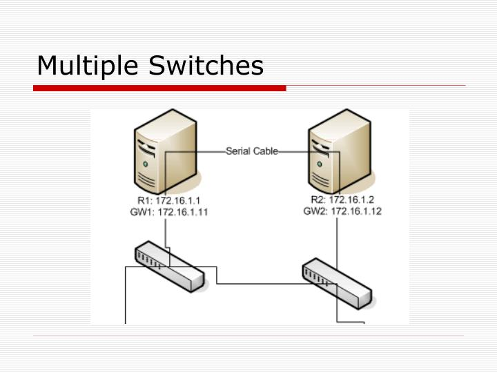 Multiple Switches