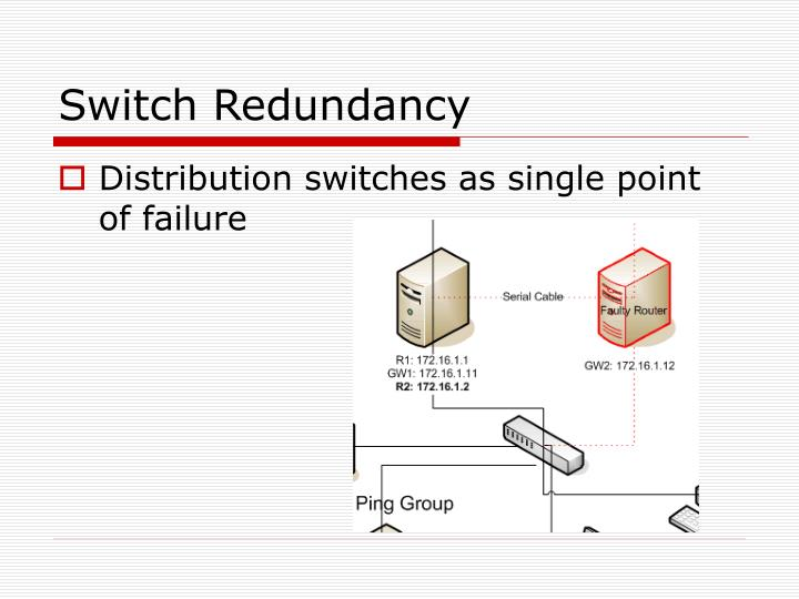 Switch Redundancy