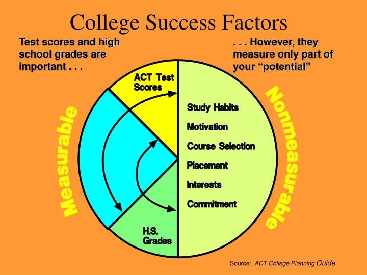 College Success Factors