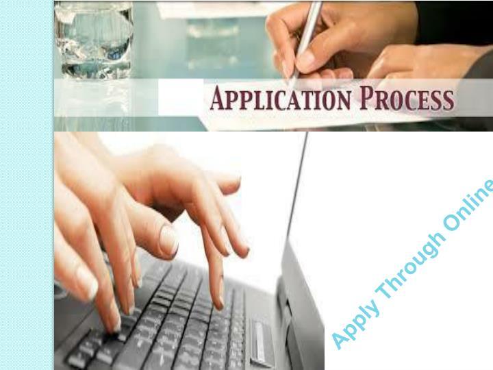 Apply Through Online
