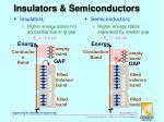 insulators semiconductors