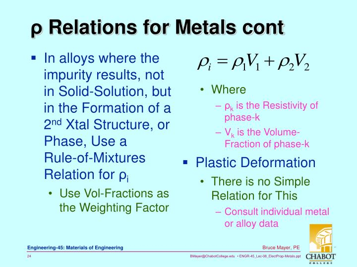 In alloys where the impurity results, not in Solid-Solution, but in the Formation of a 2