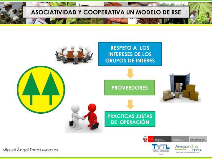 ASOCIATIVIDAD Y COOPERATIVA UN MODELO DE RSE