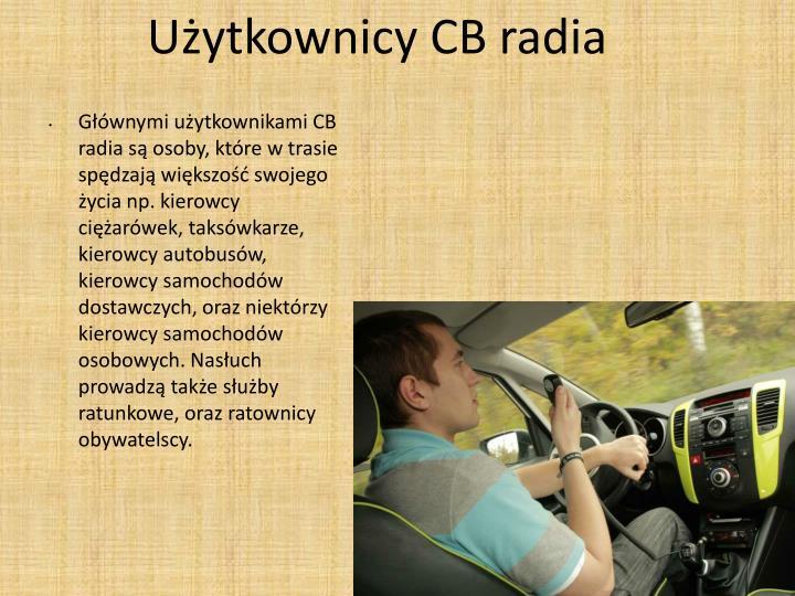Użytkownicy CB radia