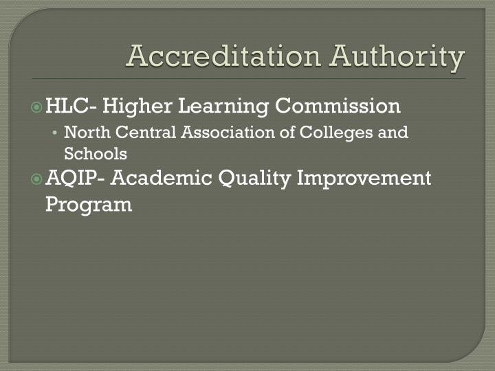 Accreditation Authority
