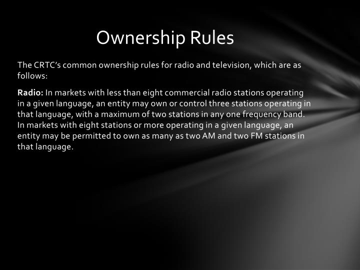 Ownership Rules