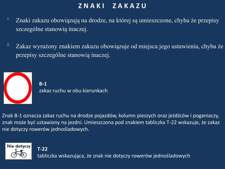 Z N A K I     Z A K A Z U