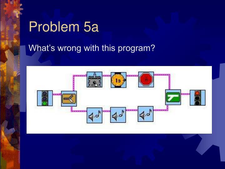 Problem 5a