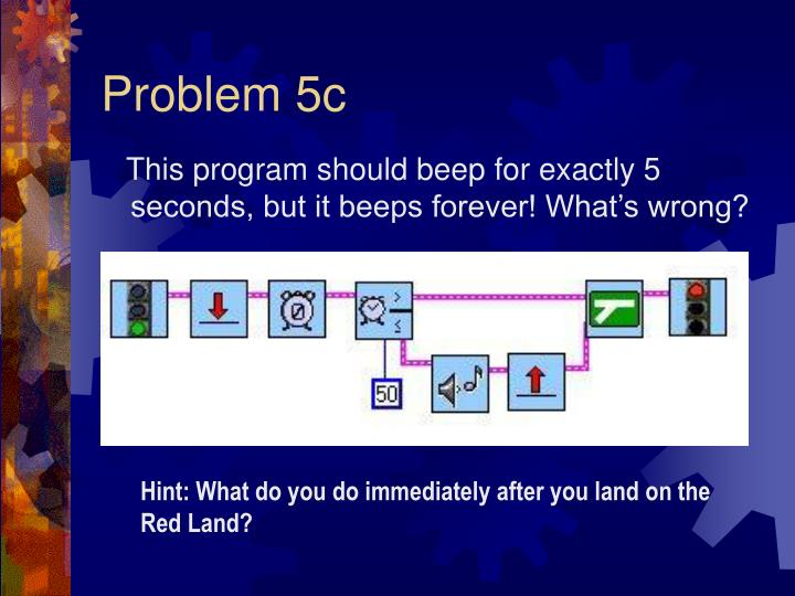 Problem 5c