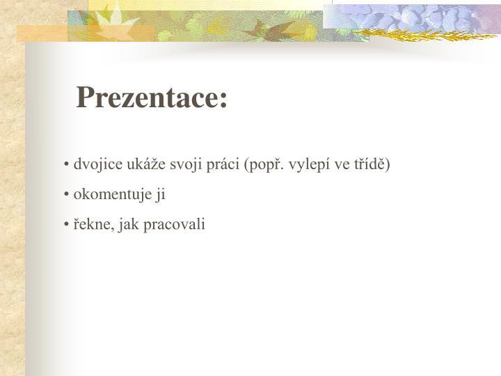 Prezentace: