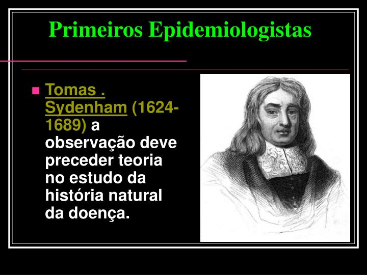 Tomas . Sydenham