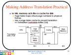 making address translation practical