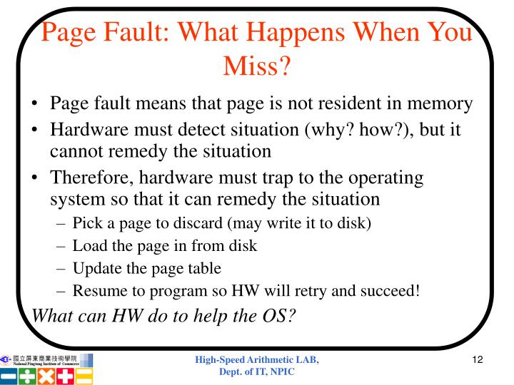 Page Fault: What Happens When You Miss?