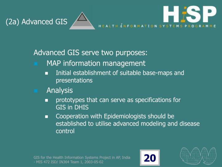 (2a) Advanced GIS
