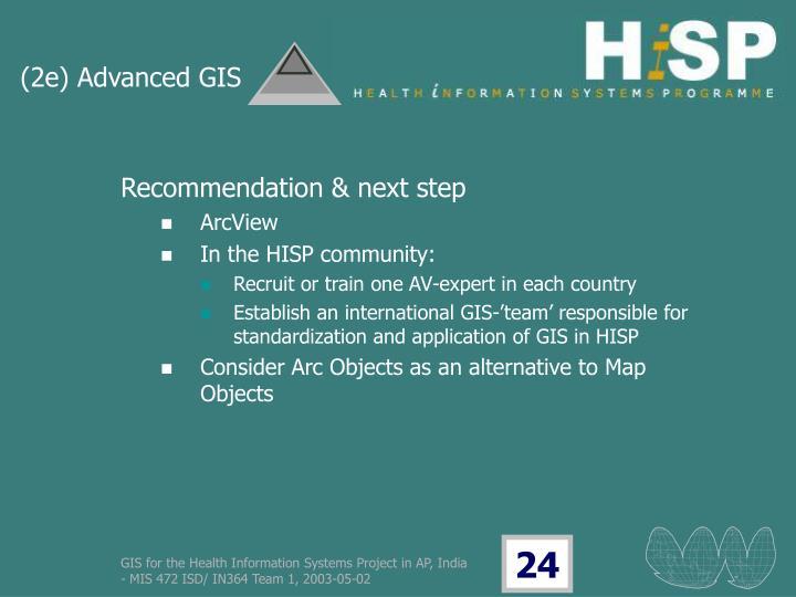 (2e) Advanced GIS