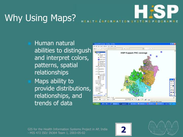 Why Using Maps?