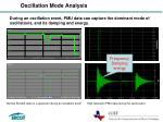oscillation mode analysis
