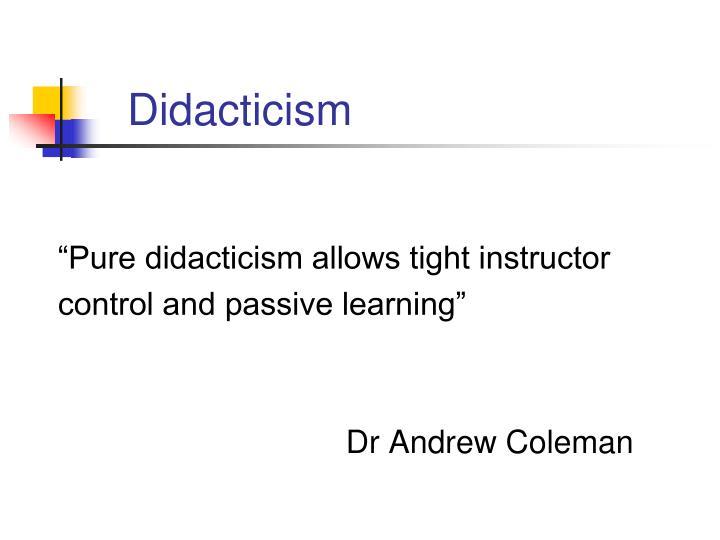 Didacticism