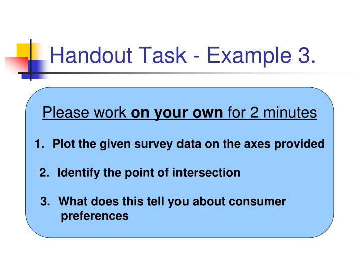 Handout Task - Example 3.