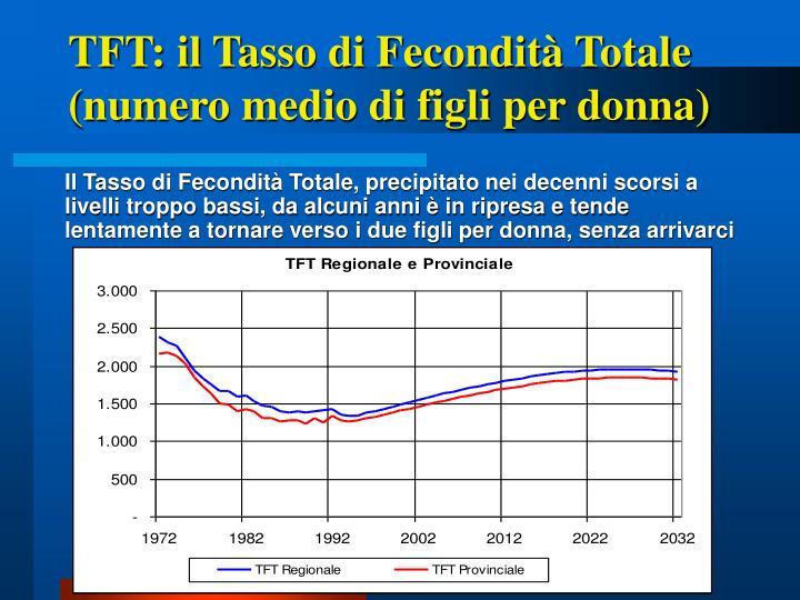 TFT: il Tasso di Fecondità Totale