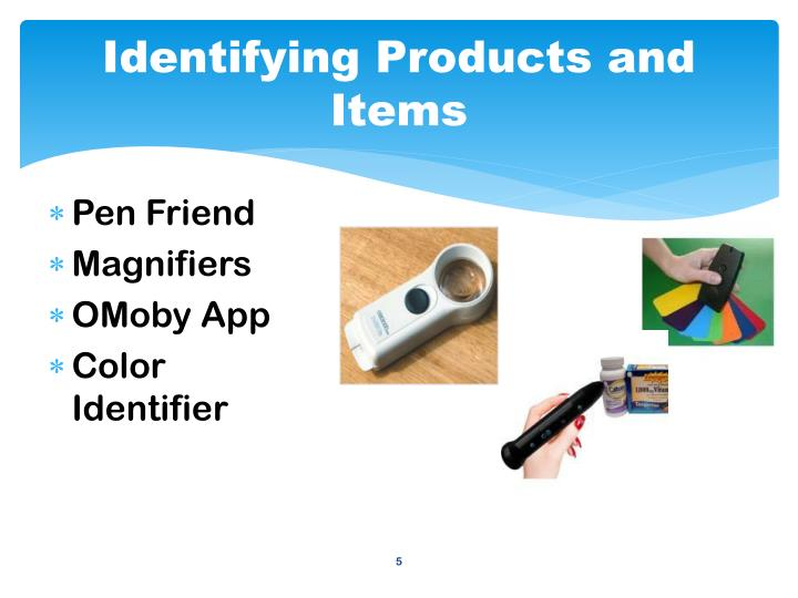 Identifying Products and Items