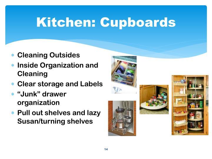 Kitchen: Cupboards