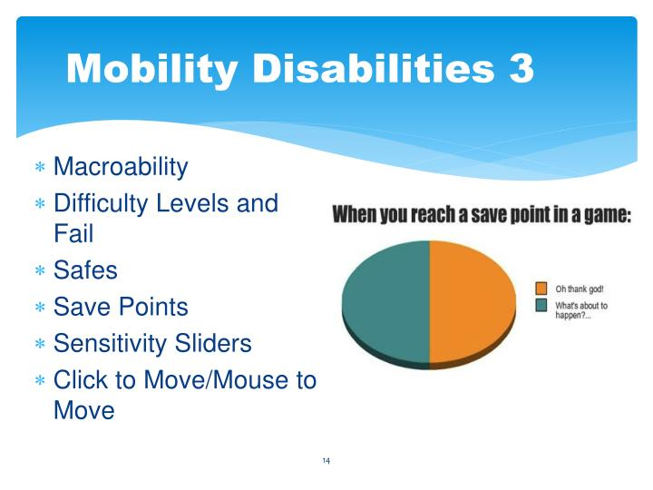 Mobility Disabilities 3