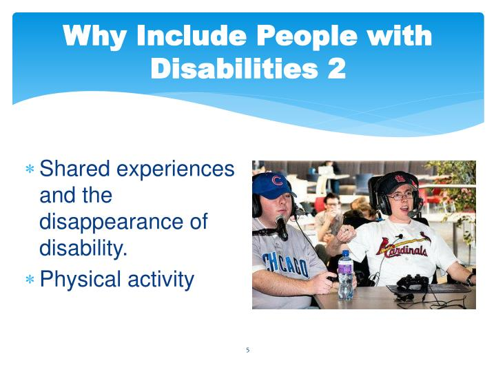 Why Include People with Disabilities 2