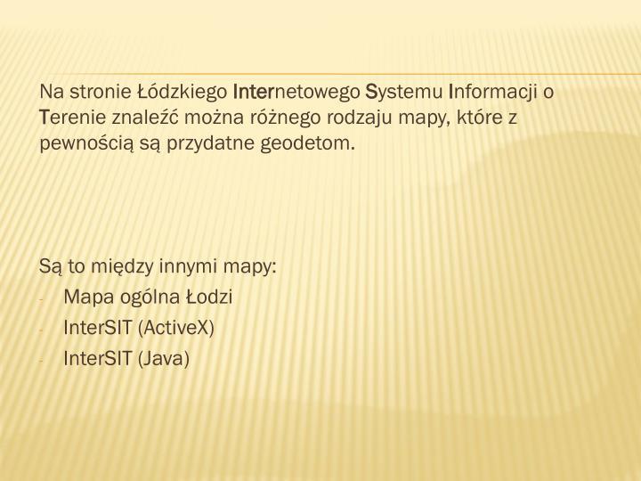 Na stronie Łódzkiego