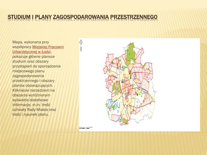 Mapa, wykonana przy współpracy