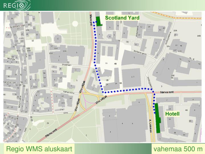 Regio WMS aluskaart