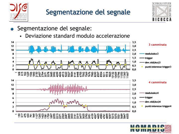 Segmentazione del segnale