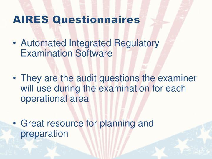 AIRES Questionnaires