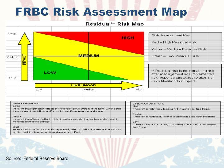 FRBC Risk Assessment Map