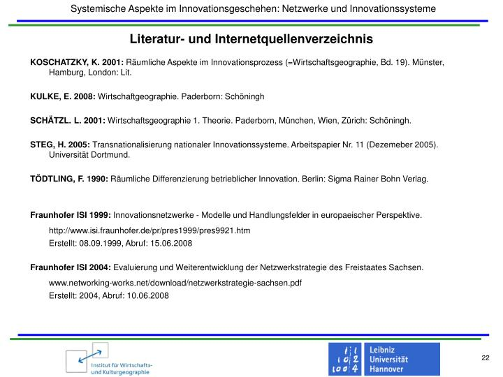 Literatur- und Internetquellenverzeichnis