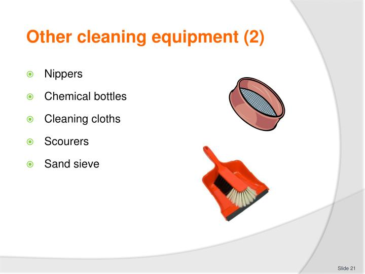Other cleaning equipment (2)