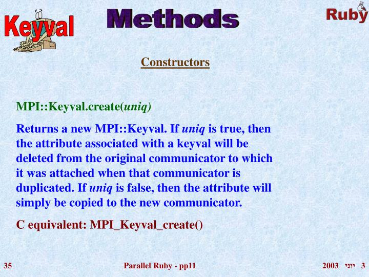 Keyval