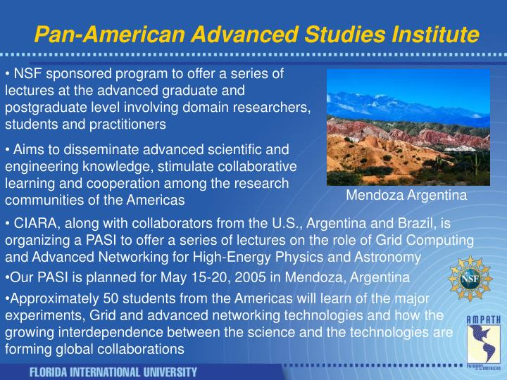 Pan-American Advanced Studies Institute