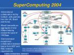 supercomputing 2004