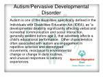 autism pervasive developmental disorder1
